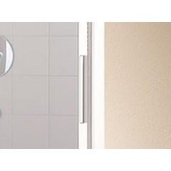 KERMI - Cada XS 3-dílné posuvné dveře s pevným polem vlevo šířka 1200 mm výška 2000 mm (CCG3L120202PK)
