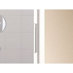 KERMI - Cada XS 3-dílné posuvné dveře s pevným polem vlevo šířka 750 mm výška 2000 mm (CCG3L07520VVK)