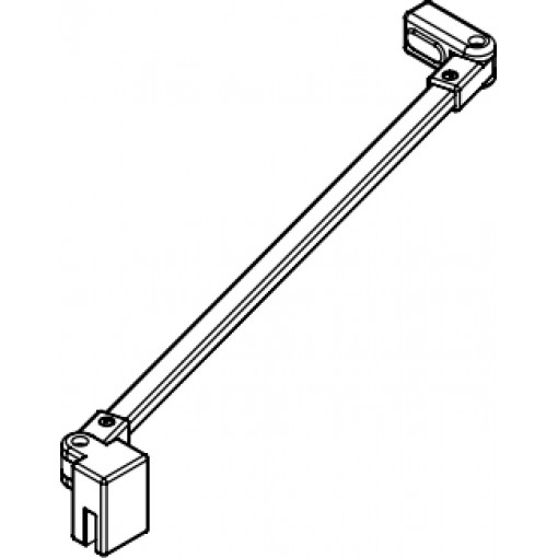 Kermi Stabilizátor Cada XS SSVSS Länge 1220 mm stříbrná vys.lesk (ZDSSVSSCC120VK)
