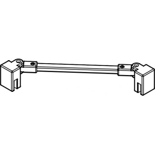 Kermi Stabilizátor Cada XS SSVSW Länge 1220 mm stříbrná vys.lesk (ZDSSVSWCC120VK)