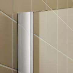 KERMI - FILIA XP / Jednokřídlé kyvné dveře s pevným polem vlevo, pro boční stěnu (FX1WL08020VPK)
