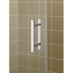 Kermi Kyvné dveře Filia XP 1GR 16020 1560-1610/2000 stříbrná vys.lesk ESG čiré Clean 1-křídlé kyvné dveře s p. poli panty vpravo (FX1GR16020VPK)