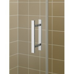 KERMI - FILIA XP / Jednokřídlé kyvné dveře s pevnými poli, panty vlevo (FX1GL17020VPK)