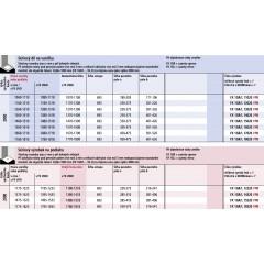 KERMI - FILIA XP / Jednokřídlé kyvné dveře s pevnými poli, panty vlevo (FX1GL18020VPK)