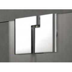 KERMI - Pasa XP / jednokřídlé kyvné dveře s pevným polem vlevo, jen do niky (PX1TL13018VAK)