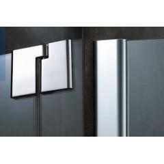 KERMI - Pasa XP / jednokřídlé kyvné dveře s pevným polem vlevo, pro kombinaci s boční stěnou (PX1WL120181AK)
