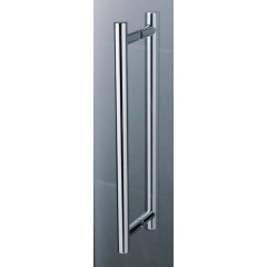 KERMI - Pasa XP / jednokřídlé kyvné dveře s pevným polem vlevo, pro kombinaci s boční stěnou (PX1WL10018VAK)