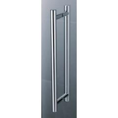 KERMI - Pasa XP / jednokřídlé kyvné dveře s pevným polem vlevo, pro kombinaci s boční stěnou (PX1WL14018VAK)