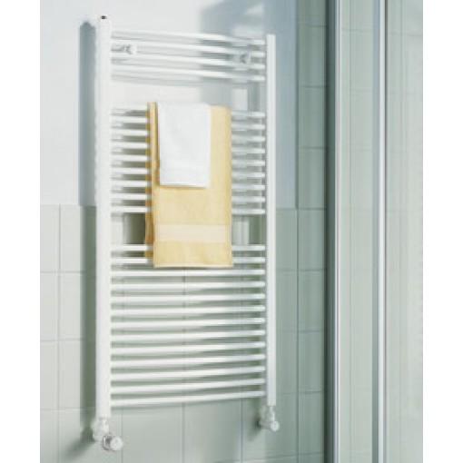 KERMI - LR0101200752XXK / B-20 R, koupelnový radiátor zahnutý 1200x750mm, bílá