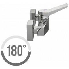 CERSANIT - Sprchová baterie CROMO jednopáková, nástěnná, bez přepínače, CHROM (S951-036)
