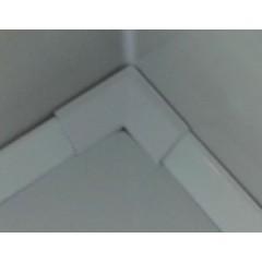 POLYSAN - Krycí lišta okolo sprchové vaničky 120+100cm, 2x roh, 2x ukončení (91021)