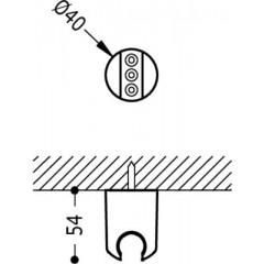 TRES - Pevný držák (9134841)
