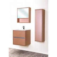CEDERIKA - Amsterdam umyvadlová skříňka 2x šuplík barva metallic měděný korpus korpus metallic měděný šíře 60 (CA.U2B.133.060)