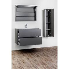 CEDERIKA - Amsterdam umyvadlová skříňka 2x šuplík barva světle šedá korpus korpus světle šedá šíře 60 (CA.U2B.111.060)