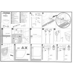 CERSANIT - Náhradní montážní sada na upevnění WC (K99-0191)