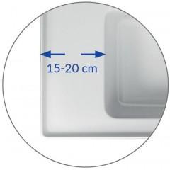 CERSANIT - NÁBYTKOVÉ UMYVADLO 80 CREA BOX (K114-017)