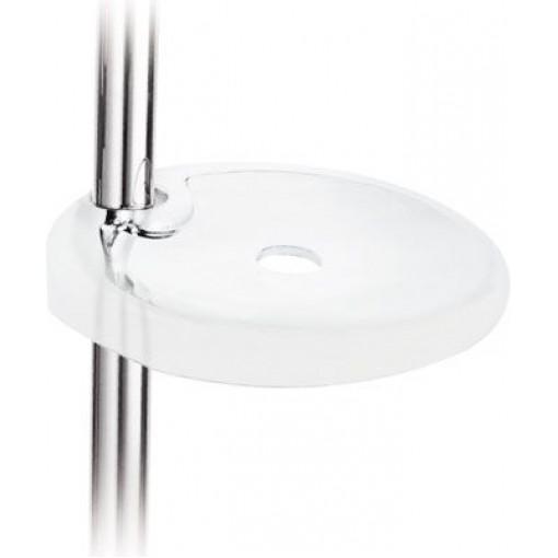Metakrylátová mýdlová miskana posuvnou tyč O 18 mm a O 24 mm a panely AVAN-TRES 53463705