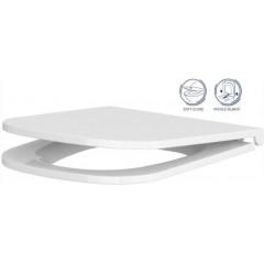 LAUFEN Podomít. systém LIS TW1 SET s bílým tlačítkem + WC CERSANIT CLEANON CASPIA + SEDÁTKO (H8946630000001BI CP1)