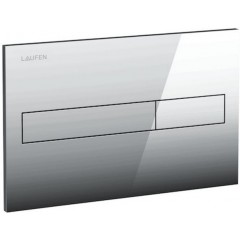 LAUFEN - Podomít. systém LIS TW1 SET + ovládací tlačítko CHROM + WC CERSANIT CARINA CLEANON + SEDÁTKO (H8946630000001CR CA1)