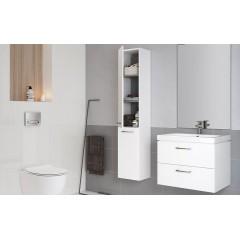 CERSANIT - SET 802 LARA CITY 60 Bílá skříňka + umyvadlo S801-142-DSM