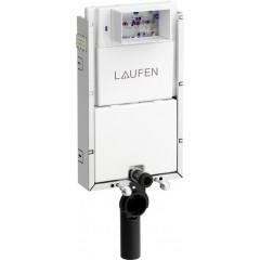 LAUFEN - Podomít. systém LIS TW1 SET + ovládací tlačítko CHROM + WC CERSANIT PRESIDENT + SEDÁTKO (H8946630000001CR PR1)