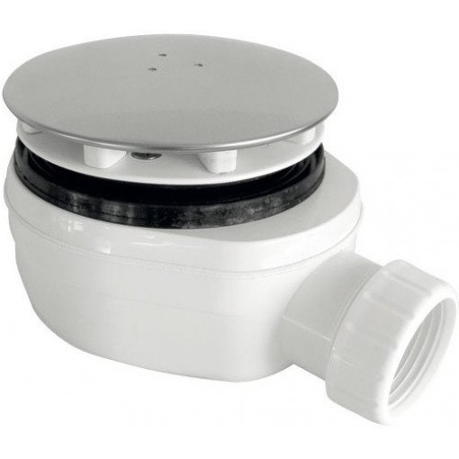 Sifon sprchový 90 SNÍŽENÝ v.63mm nerez DN40, nízký EWNN940 (EWNN940)