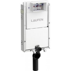 LAUFEN - Podomít. systém LIS TW1 SET + ovládací tlačítko CHROM + WC ARES + SEDÁTKO (H8946630000001CR AR1)