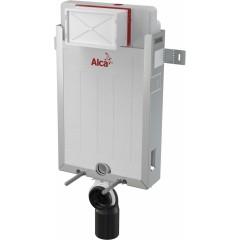 ALCAPLAST - SET Renovmodul - předstěnový instalační systém + tlačítko M1710 + WC CERSANIT MITO + SEDÁTKO (AM115/1000 M1710 MI1)