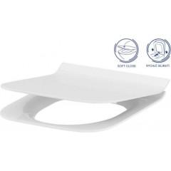 ALCAPLAST Sádromodul - předstěnový instalační systém bez tlačítka + WC CERSANIT CLEANON CREA čtverec + SEDÁTKO (AM101/1120 X CR2)