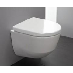 ALCAPLAST Sádromodul - předstěnový instalační systém s bílým/ chrom tlačítkem M1720-1 + WC LAUFEN PRO RIMLESS + SEDÁTKO (AM101/1120 M1720-1 LP1)