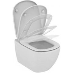 ALCAPLAST - Jádromodul - předstěnový instalační systém + WC TESI se sedátkem SoftClose, AquaBlade (AM102/1120 X TE1)