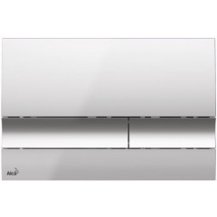 ALCAPLAST - SET Jádromodul - předstěnový instalační systém + tlačítko M1721 + WC CERSANIT CLEANON CARINA + SEDÁTKO (AM102/1120 M1721 CA1)
