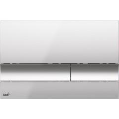 ALCAPLAST - SET Renovmodul - předstěnový instalační systém + tlačítko M1721 + WC TESI (AM115/1000 M1721 TE3)