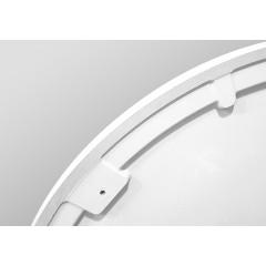 PRIM - Sprchová vanička čtvrtkruh 800x800 bílá BEZ NOH (PRIM8080R55M)