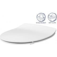 ALCAPLAST - Sádromodul - předstěnový instalační systém + tlačítko M1721 + WC CERSANIT CLEANON MODUO + SEDÁTKO (AM101/1120 M1721 MO1)