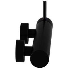 STEINBERG - Sprchová nástěnná páková baterie, černá mat 100 1220 S
