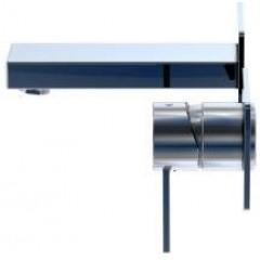 STEINBERG - Nástěnná páková umyvadlová baterie včetně montážního tělesa, chrom (120 1801)
