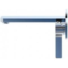 STEINBERG - Podomítková umyvadlová baterie 2-otvorová bez montážního tělesa, chrom (230 1824)