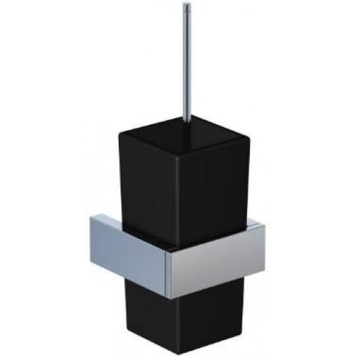 STEINBERG - WC štětka, černé sklo (460 2904)
