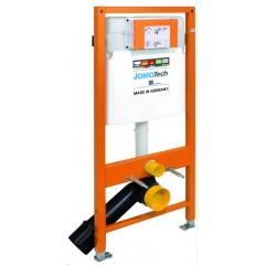 JOMO DUO modul pro závěsné WC bez desky + WC CERSANIT ARES + SEDÁTKO (174-91100700-00 AR1)