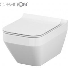JOMO - SET JOMO Duofix modul pro závěsné WC + montážní sada + sedátko + WC CERSANIT CLEANON CREA ČTVEREC (174-91100700-00 CR2)