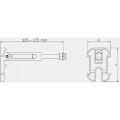 JOMO DUO modul pro závěsné WC bez desky + WC LAUFEN PRO RIMLESS + SEDÁTKO (174-91100700-00 LP1)