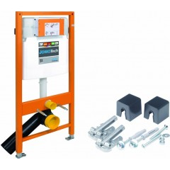 JOMO DUO modul pro závěsné WC bez desky + WC CERSANIT CLEANON MODUO + SEDÁTKO (174-91100700-00 MO1)