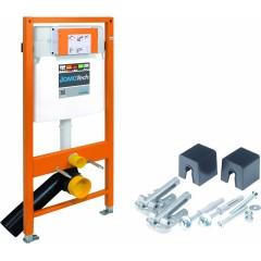 JOMO DUO modul pro závěsné WC bez desky + WC Ideal Standard Tesi se sedátkem (174-91100700-00 TE3)