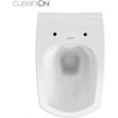 JOMO DUO modul pro závěsné WC s bílou deskou + WC CERSANIT CLEANON CARINA + SEDÁTKO (174-91100900-00 CA1)