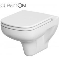 JOMO DUO modul pro závěsné WC s bílou deskou + WC CERSANIT CLEANON COLOUR + SEDÁTKO (174-91100900-00 CN1)