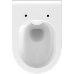 JOMO DUO modul pro závěsné WC s bílou deskou + WC CERSANIT CLEANON CREA OVÁL + SEDÁTKO (174-91100900-00 CR1)