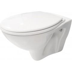 GEBERIT - SET Duofix Sada pro závěsné WC 458.103.00.1 + tlačítko DELTA50 bílé + WC CERSANIT MITO + SEDÁTKO (458.103.00.1 50BI MI1)