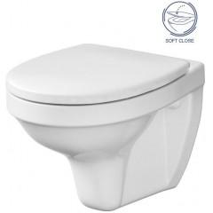 AKCE/SET - SET Duofix pro závěsné WC 111.300.00.5 bez ovládací desky + WC CERSANIT DELFI + SOFT SEDÁTKO (111.300.00.5 DE2)