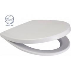 AKCE/SET - SET Duofix Sada pro závěsné WC 458.103.00.1 + tlačítko DELTA50 bílé + WC CERSANIT DELFI + SOFT SEDÁTKO (458.103.00.1 50BI DE2)
